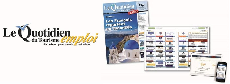 LA SOLUTION RECRUTEMENT DES PROFESSIONNELS DU TOURISME